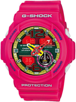 Casio Часы Casio GA-310-4A. Коллекция G-Shock