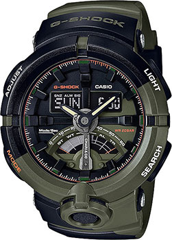 Японские наручные мужские часы Casio GA-500K-3A. Коллекция G-Shock