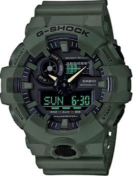 Японские наручные  мужские часы Casio GA-700UC-3A. Коллекция G-Shock.