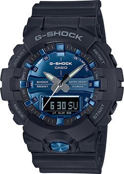 Японские наручные мужские часы Casio GA-810MMB-1A2ER. Коллекция G-Shock фото