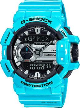 Японские наручные мужские часы Casio GBA-400-2C. Коллекция G-Shock