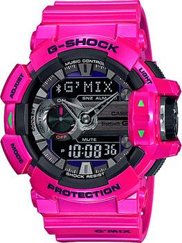 Японские наручные мужские часы Casio GBA-400-4C. Коллекция G-Shock