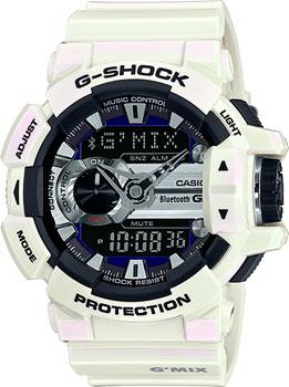 Японские наручные мужские часы Casio GBA-400-7C. Коллекция G-Shock