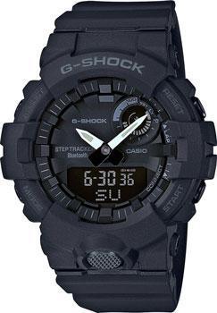 Японские наручные  мужские часы Casio GBA-800-1A. Коллекция G-Shock