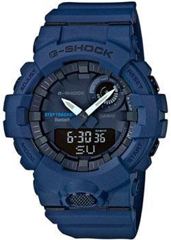 Японские наручные  мужские часы Casio GBA-800-2A. Коллекция G-Shock
