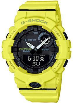 Японские наручные  мужские часы Casio GBA-800-9A. Коллекция G-Shock