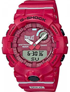 Японские наручные мужские часы Casio GBA-800EL-4AER. Коллекция G-Shock фото