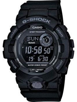 Японские наручные  мужские часы Casio GBD-800-1BER. Коллекция G-Shock