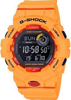 Японские наручные  мужские часы Casio GBD-800-4ER. Коллекция G-Shock
