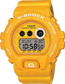 Купить Японские наручные мужские часы Casio GD-X6900HT-9E. Коллекция G-Shock
