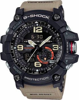Японские наручные  мужские часы Casio GG-1000-1A5. Коллекция G-Shock