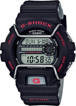 Японские наручные  мужские часы Casio GLS-6900-1E. Коллекция G-Shock