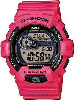 Японские наручные  мужские часы Casio GLS-8900-4E. Коллекция G-Shock