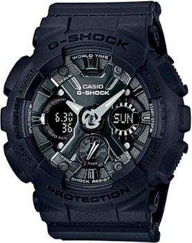 Японские наручные  женские часы Casio GMA-S120MF-1A. Коллекция G-Shock.