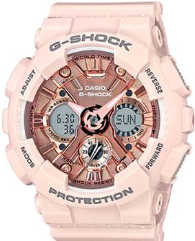 Японские наручные  женские часы Casio GMA-S120MF-4A. Коллекция G-Shock
