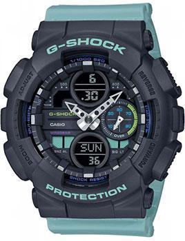 Японские наручные женские часы Casio GMA-S140-2AER. Коллекция G-Shock фото