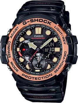 Японские наручные мужские часы Casio GN-1000RG-1A. Коллекция G-Shock