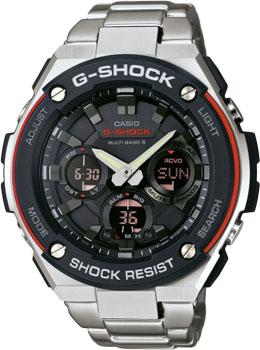 Японские наручные мужские часы Casio GST-W100D-1A4. Коллекция G-Shock