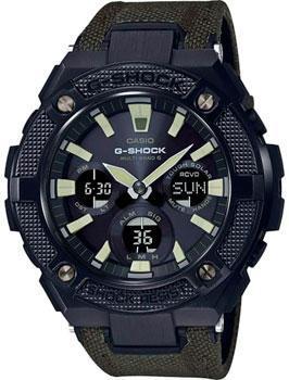 Японские наручные мужские часы Casio GST-W130BC-1A3. Коллекция G-Shock фото