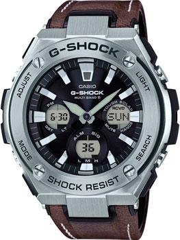 Японские наручные мужские часы Casio GST-W130L-1A. Коллекция G-Shock фото
