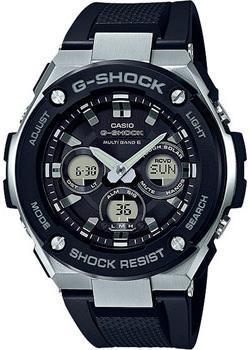Японские наручные  мужские часы Casio GST-W300-1A. Коллекция G-Shock.