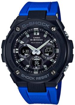 Японские наручные  мужские часы Casio GST-W300G-2A1. Коллекция G-Shock