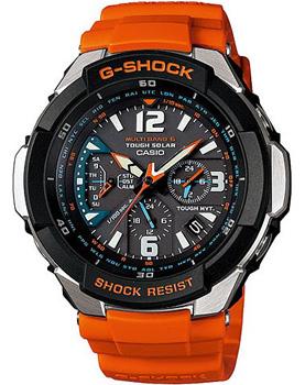 Японские наручные мужские часы Casio GW-3000M-4A. Коллекция G-Shock Premium