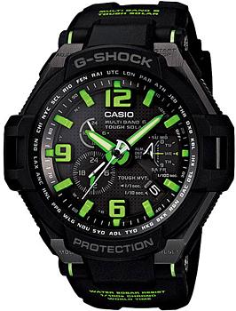 Японские наручные мужские часы Casio GW-4000-1A3. Коллекция G-Shock