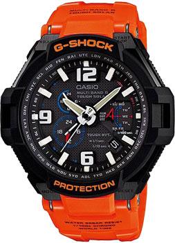 Японские наручные мужские часы Casio GW-4000R-4A. Коллекция G-Shock