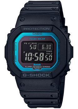Японские наручные мужские часы Casio GW-B5600-2ER. Коллекция G-Shock фото