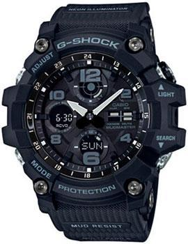 Японские наручные  мужские часы Casio GWG-100-1A. Коллекция G-Shock