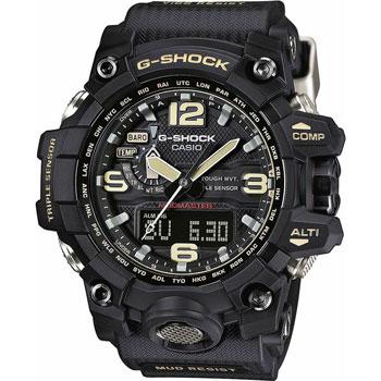 Японские наручные  мужские часы Casio GWG-1000-1A. Коллекция G-Shock