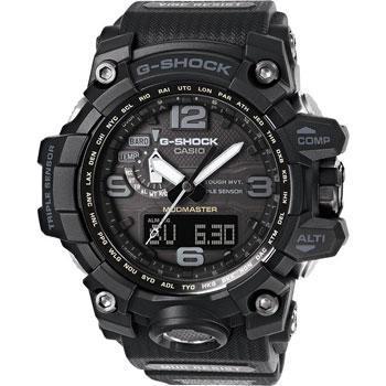 Японские наручные мужские часы Casio GWG-1000-1A1. Коллекция G-Shock фото