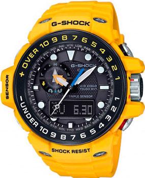 Японские наручные  мужские часы Casio GWN-1000H-9A. Коллекция G-Shock от Bestwatch.ru
