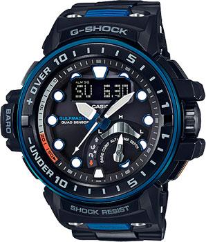 Японские наручные  мужские часы Casio GWN-Q1000MC-1A2. Коллекция G-Shock