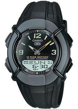 Японские наручные  мужские часы Casio HDC-600-1B. Коллекция Combinaton Watches