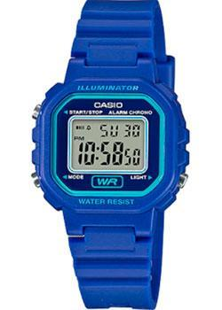 Японские наручные  женские часы Casio LA-20WH-2A. Коллекция Digital