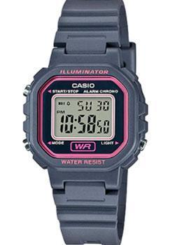 Японские наручные  женские часы Casio LA-20WH-8A. Коллекция Digital