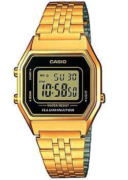 Японские наручные женские часы Casio LA680WEGA-1E. Коллекция Digital фото
