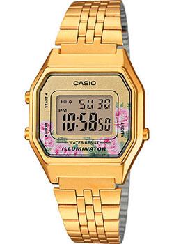 Японские наручные  женские часы Casio LA680WEGA-4C. Коллекция Digital