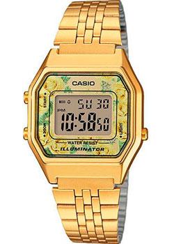 Японские наручные  женские часы Casio LA680WEGA-9C. Коллекция Digital