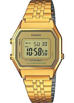 Японские наручные  женские часы Casio LA680WEGA-9E. Коллекция Digital