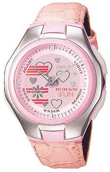 Японские наручные  женские часы Casio LCF-10L-4A. Коллекция Lineage