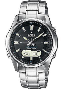 Японские наручные  мужские часы Casio LCW-M100DSE-1A. Коллекция Wave Ceptor. Производитель: Casio, артикул: w101781