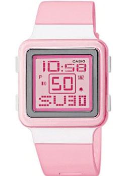 Японские наручные  женские часы Casio LDF-20-4A. Коллекция Digital