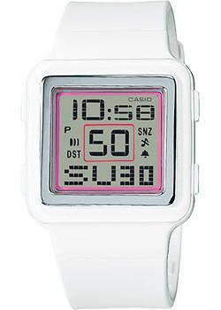 Японские наручные  женские часы Casio LDF-20-7A. Коллекция Digital