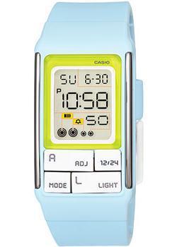 Японские наручные  женские часы Casio LDF-51-2A. Коллекция Digital