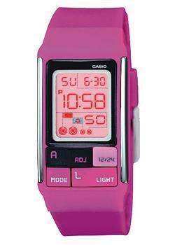 Японские наручные  женские часы Casio LDF-52-4A. Коллекция Digital