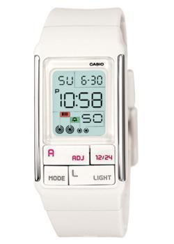 Японские наручные  женские часы Casio LDF-52-7A. Коллекция Futurist