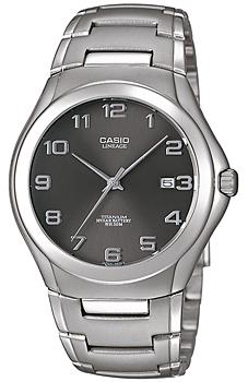Японские наручные мужские часы Casio LIN-168-8A. Коллекция Lineage